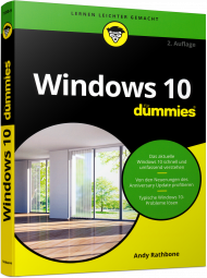 Windows 10 für Dummies, ISBN: 978-3-527-71350-9, Best.Nr. WL-71350, erschienen 11/2016, € 19,99