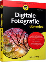 Digitale Fotografie für Dummies, ISBN: 978-3-527-71365-3, Best.Nr. WL-71365, erschienen 02/2017, € 16,99