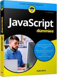 JavaScript für Dummies, ISBN: 978-3-527-71444-5, Best.Nr. WL-71444, erschienen 11/2017, € 24,99