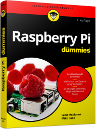 Raspberry Pi für Dummies, ISBN: 978-3-527-71445-2, Best.Nr. WL-71445, erschienen 02/2018, € 19,99