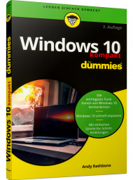 Windows 10 kompakt für Dummies, ISBN: 978-3-527-71725-5, Best.Nr. WL-71725, erschienen 03/2020, € 10,00
