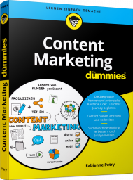 WL-71780, Content Marketing für Dummies, Buch von Wiley mit 350 S., EUR 25,00 (ET 02/21) 978-3-527-71780-4