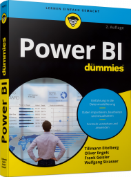 Power BI für Dummies, ISBN: 978-3-527-71857-3, Best.Nr. WL-71857, erschienen 04/2021, € 30,00