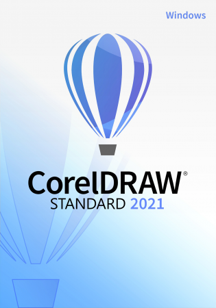 CorelDRAW Standard 2021 für Windows - Grafikdesign-Software für ambitionierte Hobbygrafiker /   ,