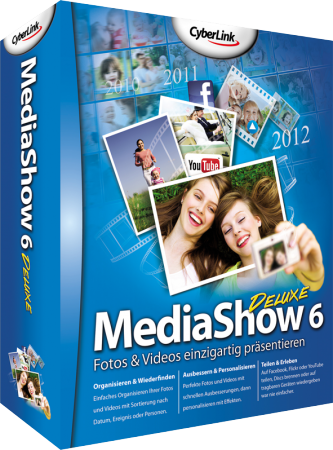 CyberLink MediaShow 6 Deluxe für Windows