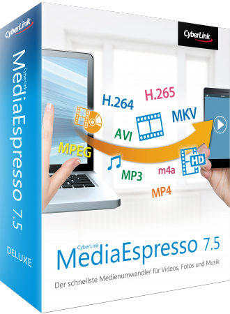 CyberLink MediaEspresso 7.5 für Windows