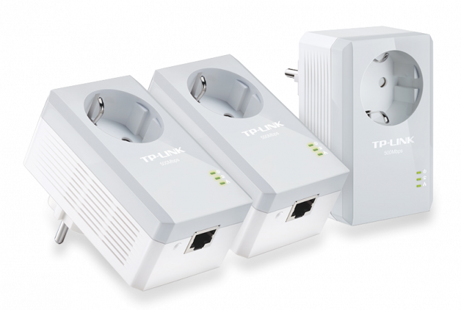 TP-LINK AV500 Powerline-Adapter 3er KIT (TL-PA4010P TKIT) - TP-LINK AV500 Powerline-Adapter 3er KIT (TL-PA4010P TKIT), Best.Nr. TP-5255, 57,95