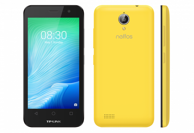 Neffos Smartphone Y5L 3G Sunny Yellow (TP801A31EU)