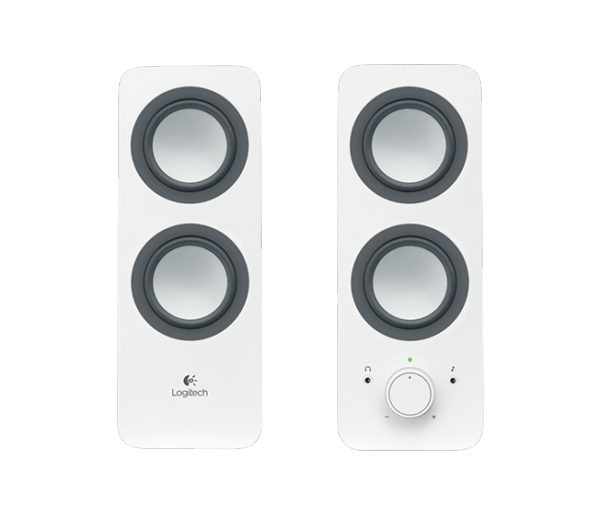 Logitech Multimedia Speaker 2.0 Z200 weiss / 