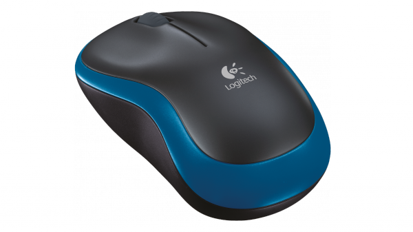 Logitech Wireless Optical Mouse M185 - Blau / 