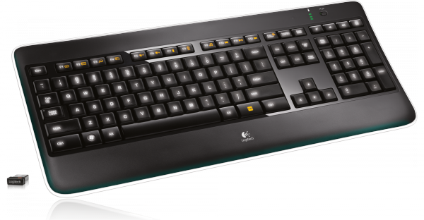 Logitech Wireless Illuminated Keyboard K800 / 