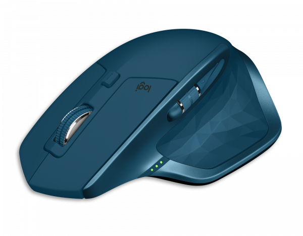 Logitech MX Master 2S Wireless Mouse - Midnight Teal / 