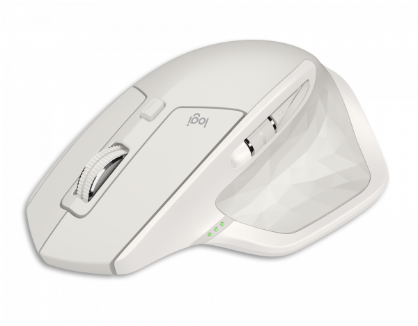 Logitech MX Master 2S Wireless Mouse - Hellgrau / 