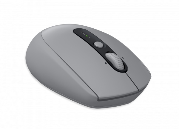 Logitech Wireless Mouse M590 Multi-Device Silent - Mid Grey Tonal / 