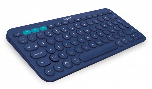 Logitech K380 Multi-Device Bluetooth Keyboard - blau / 