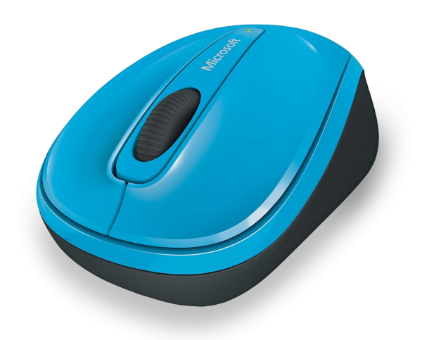 MS Wireless Mobile Mouse 3500 blau (GMF-00271) - Kabellose Maus mit BlueTrack Technology und Nano-Transceiver /  ,