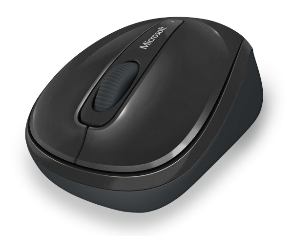 MS Wireless Mobile Mouse 3500 schwarz (GMF-00042) - Kabellose Maus mit BlueTrack Technology und Nano-Transceiver /  ,