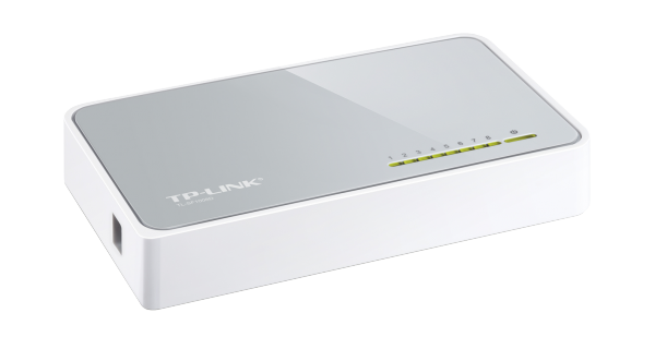 TP-LINK 8-Port Fast-Ethernet Desktop Switch (TL-SF1008D) / 