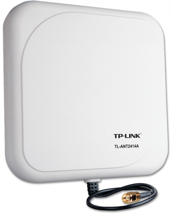 TP-LINK 2,4GHz 14dBi Outdoor-Richtstrahlantenne (TL-ANT2414A) / 