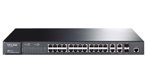 TP-LINK JetStream 24+4 Gigabit L2-Managed Switch (TL-SL5428E) / 