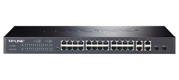 TP-LINK JetStream 24+4-Port Gigabit Smart-Switch (TL-SL2428) / 