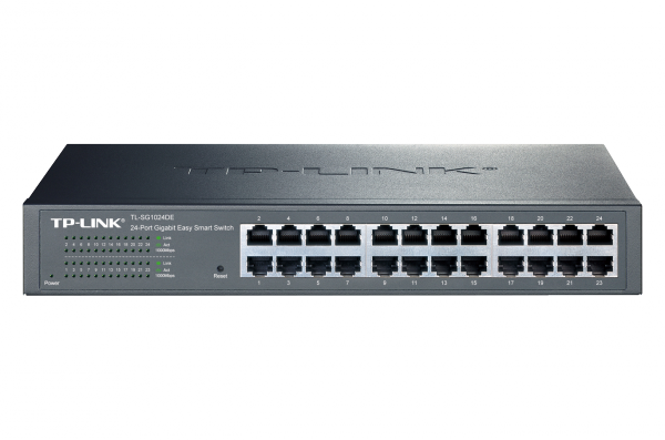 TP-LINK JetStream 24-Port Gigabit Easy-Smart-Switch (TL-SG1024DE) / 