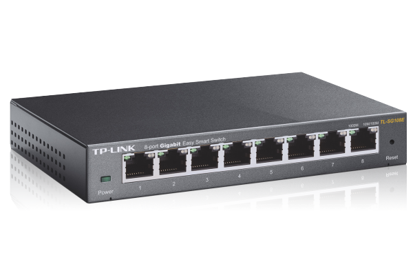 TP-LINK 8-Port Gigabit Easy Smart Switch (TL-SG108E) / 