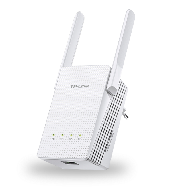 TP-LINK AC750 Dualband WLAN-Repeater mit LAN-Port (RE210) / 