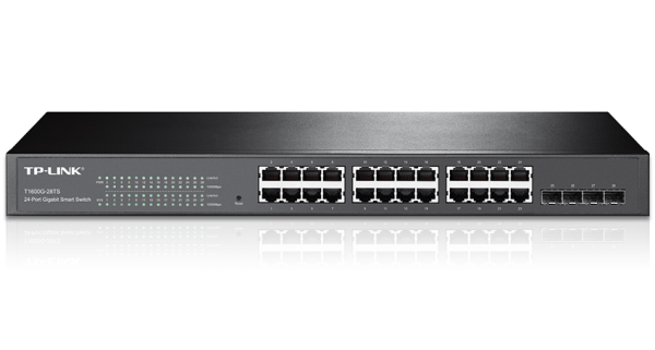 TP-LINK JetStream 24 Gigabit Smart-Switch (T1600G-28TS) / 