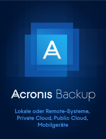 Acronis Backup 12.5 Advanced Workstation Liz. inkl. AAP (1-9) -  /   ,