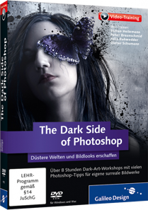 The Dark Side of Photoshop - Video-Training - D�stere Welten und Bildlooks erschaffen. / Trainer:  , 978-3-8362-1913-6