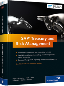 SAP Treasury and Risk Management - Funktionen, Anwendung und Customizing im Detail / Autor:  Jarr�, S�nke / L�venich, Reinhold / Martin, Andreas, 978-3-8362-1920-4