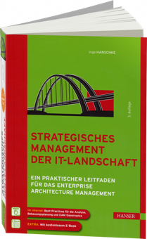 Strategisches Management der IT-Landschaft - Praktischer Leitfaden für das Enterprise Architecture Management / Autor:  Hanschke, Inge, 978-3-446-43509-4