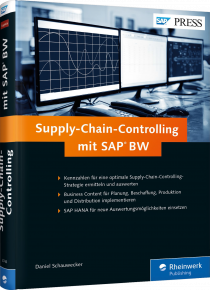 Supply-Chain-Controlling mit SAP BW - Kennzahlen für eine optimale Supply-Chain-Controlling-Strategie / Autor:  Schauwecker, Daniel, 978-3-8362-3746-8
