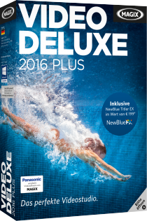 MAGIX Video deluxe 2016 Plus - Professionell Videos bearbeiten /   ,