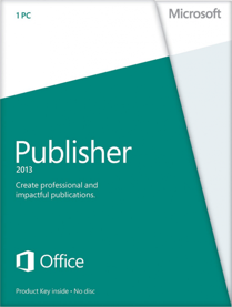 Microsoft Publisher 2013 - Key Card - Desktop-Publishing f�r Kommunikation und Marketing /   ,