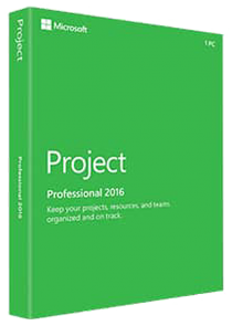 Microsoft Project Professional 2016 - Key Card - Mit Skype for Business zusammenarbeiten, Ressourcenverwaltung,... /   ,