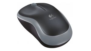 Logitech Wireless Optical Mouse M185 - Swift Grau - Zuverlässige optische Maus mit kabelloser Plug&Play-Technologie /  ,