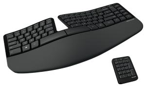 MS Sculpt Ergonomic Keyboard For Business (5KV-00004) - Kabellose ergonomische Tastatur mit geteiltem Tastenfeld /  ,