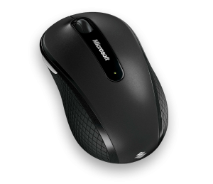 MS Wireless Mobile Mouse 4000 (D5D-00004) - Kabellose Maus im sportlichen Design /  ,