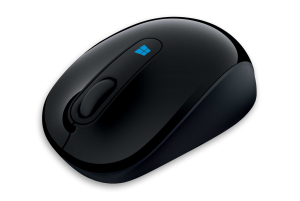 MS Sculpt Mobile Mouse (43U-00003) - Komfortable Maus mit 4-Wege-Scrollrad, kabellos /  ,