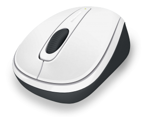 MS Wireless Mobile Mouse 3500 Limited Edition weiß (GMF-00196) - Kabellose Maus mit BlueTrack Technology und Nano-Transceiver /  ,