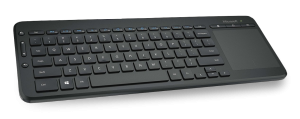 MS All-In-One Media Keyboard (N9Z-00008) - Kabellose Tastatur mit integriertem Multitouch-Trackpad /  ,