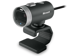 MS LifeCam Cinema (H5D-00014) - Webcam: HD-Video-Chat mit 720p, Bewegungswinkel von 360 Grad /  ,