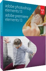 Adobe Photoshop & Premiere Elements 13 f�r Win & Mac, Best.Nr. AD-234898, € 119,95