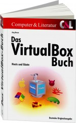 Das VirtualBox-Buch, Best.Nr. CL-4671, € 34,90