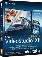 Corel VideoStudio Ultimate X8, Best.Nr. CO-282, € 69,95