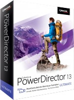 CyberLink PowerDirector 13 Ultimate, Best.Nr. CY-179, € 99,95