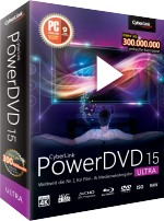CyberLink PowerDVD 15 Ultra, Best.Nr. CY-193, € 79,95