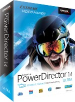CyberLink PowerDirector 14 Ultra, Best.Nr. CY-207, € 69,95